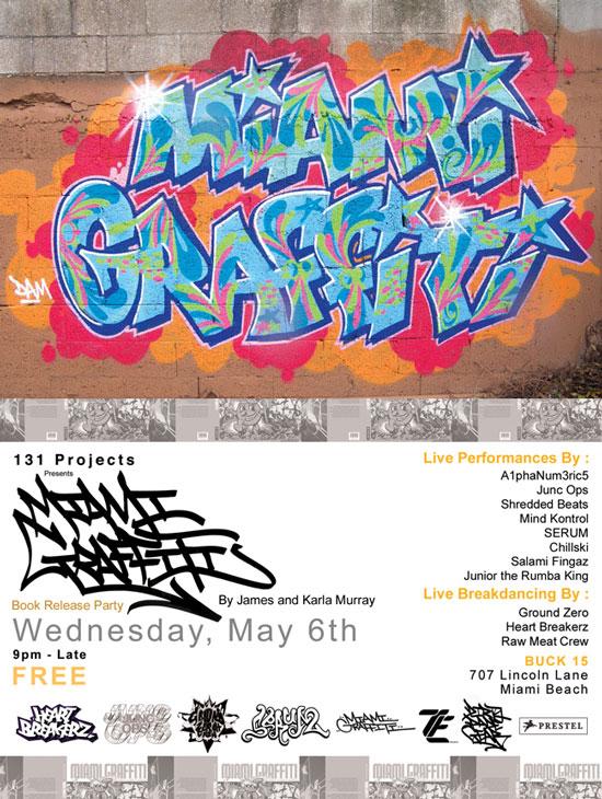 MIAMI GRAFFITI* Events! |